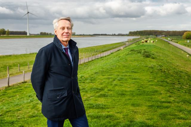Jan Bonjer is per 1 mei 2020 dijkgraaf waterschap Hollandse Delta.